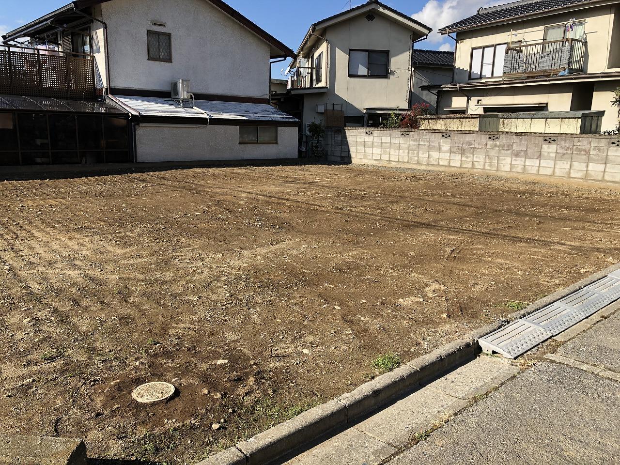 【長野県松本市】建物解体後、駐車場として利用
