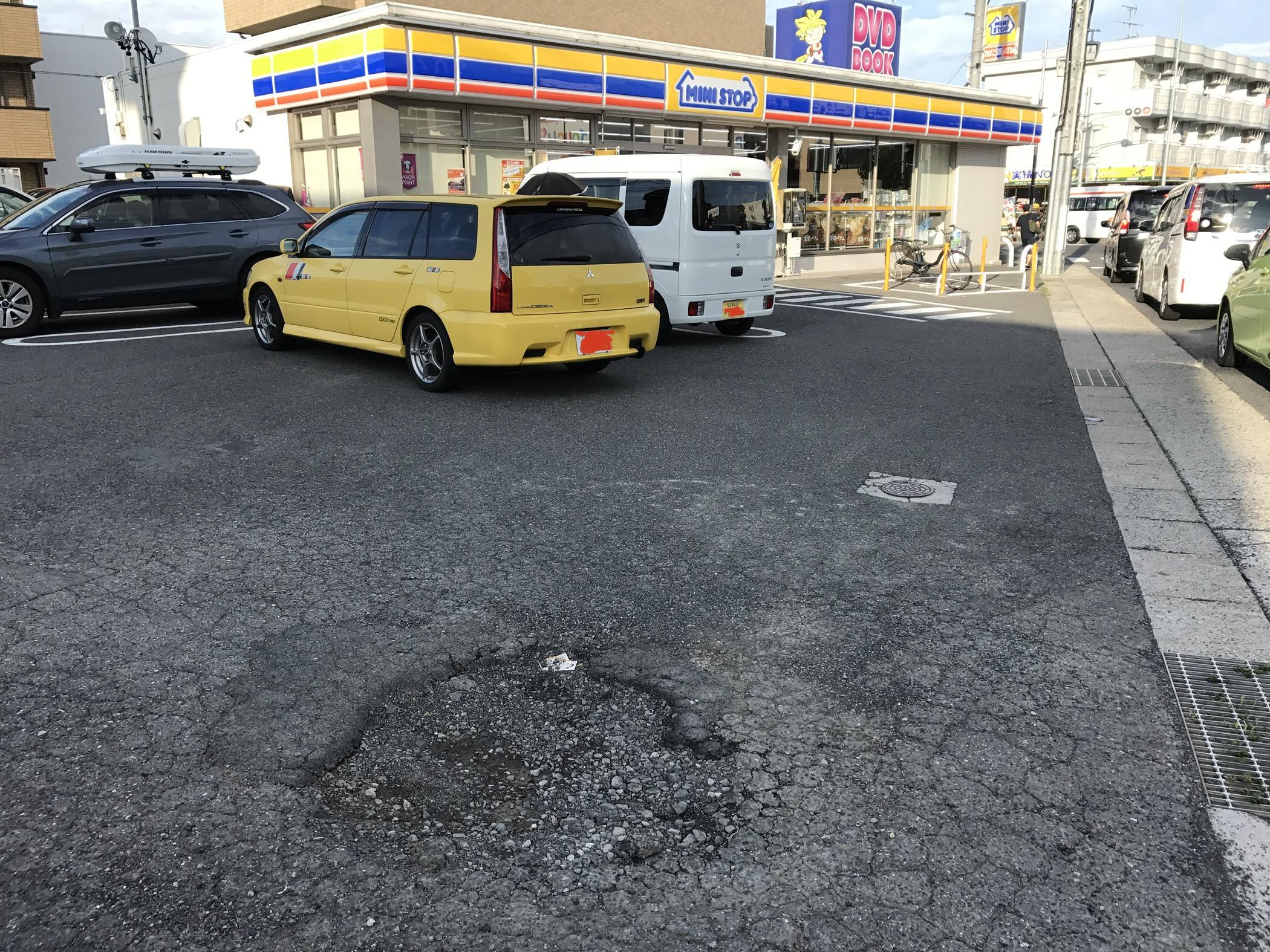 【愛知県】コンビニ駐車場