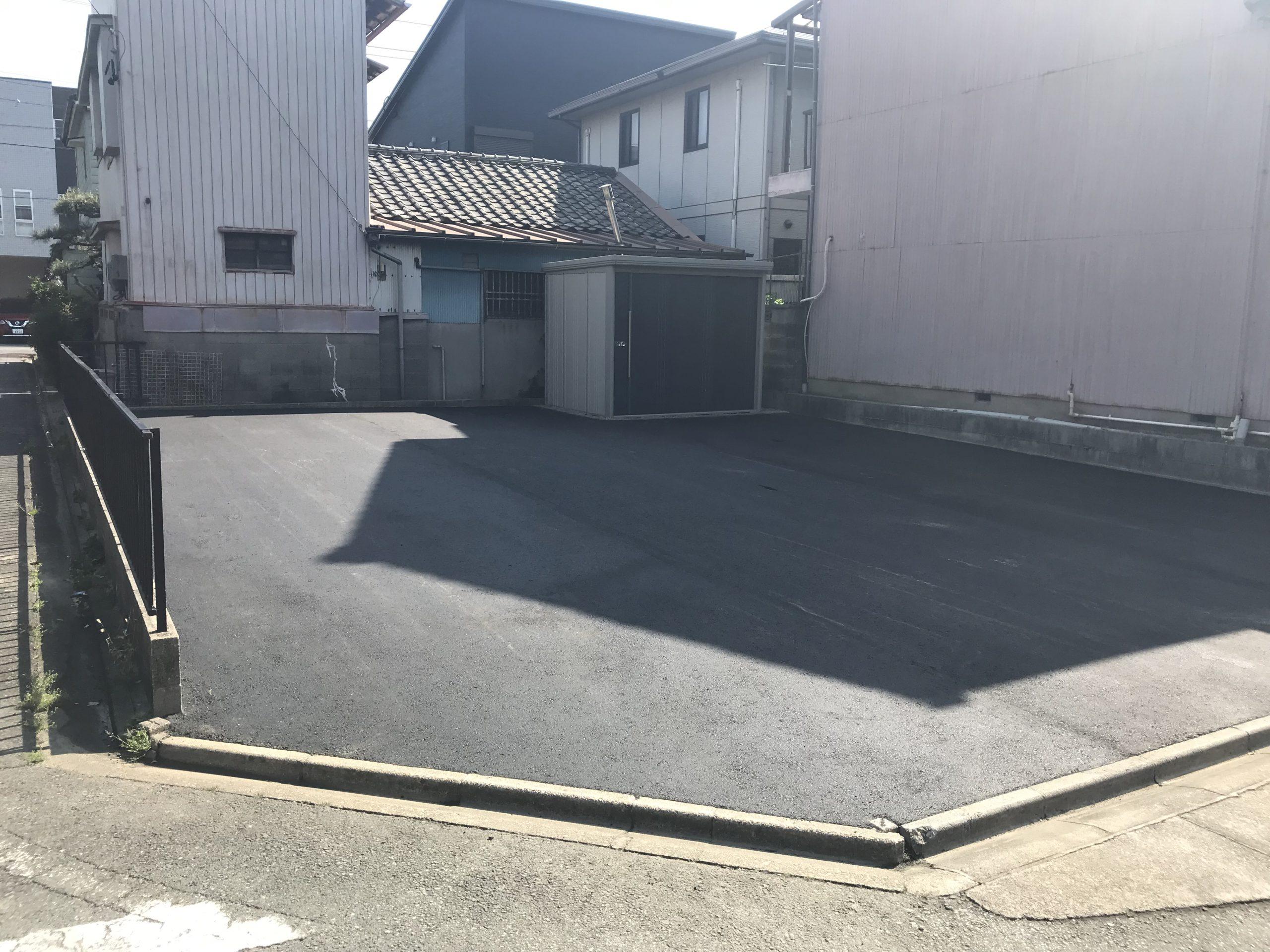 【静岡県】駐車場舗装