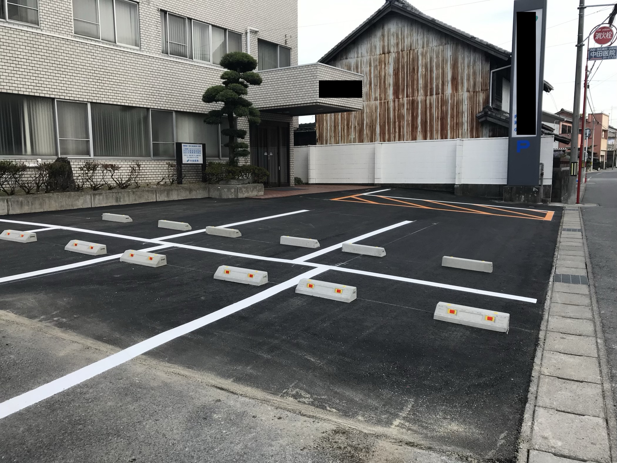 【三重県】病院駐車場