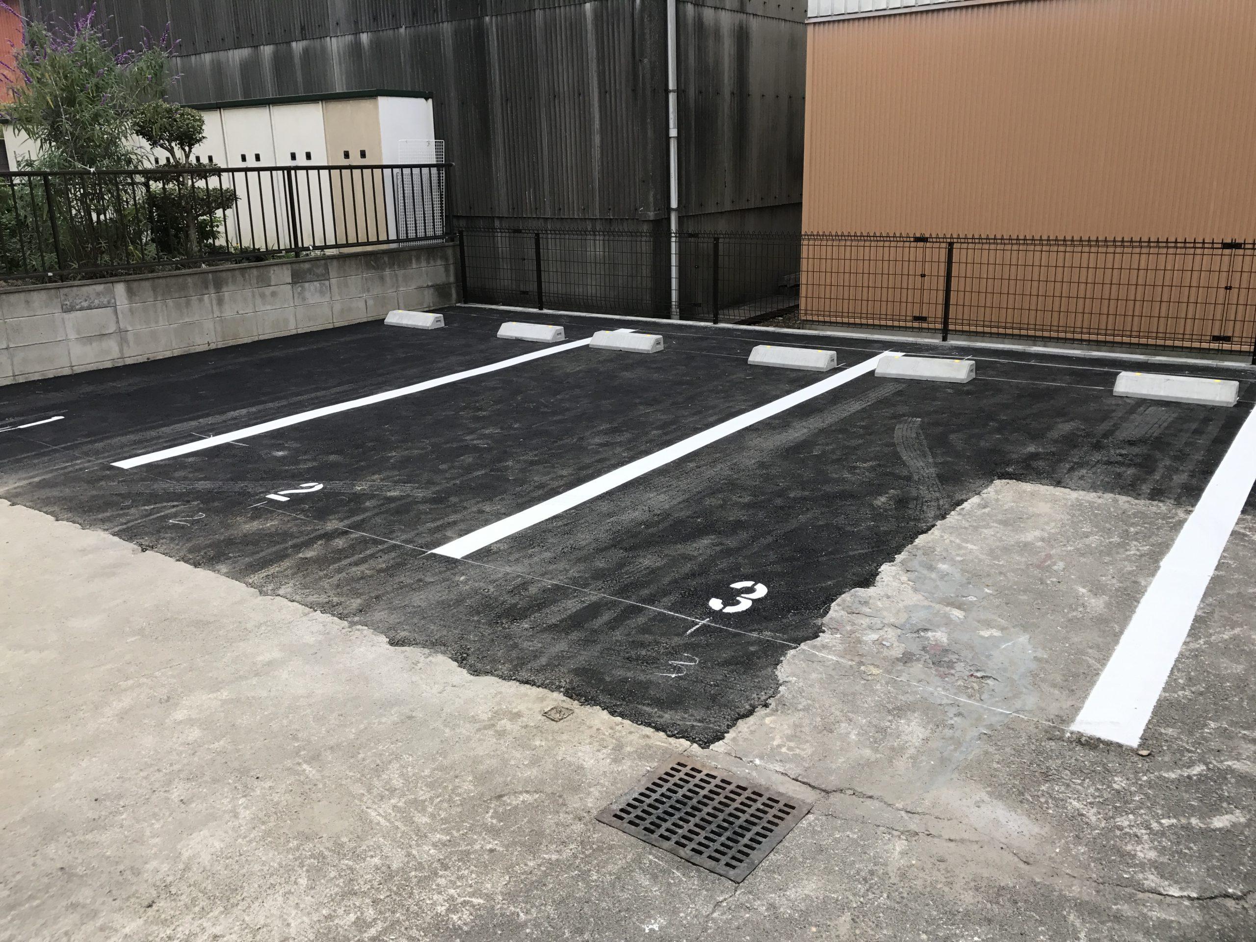 【愛知県】駐車場一部分