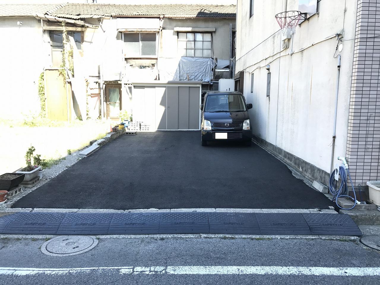 【三重県】駐車場舗装