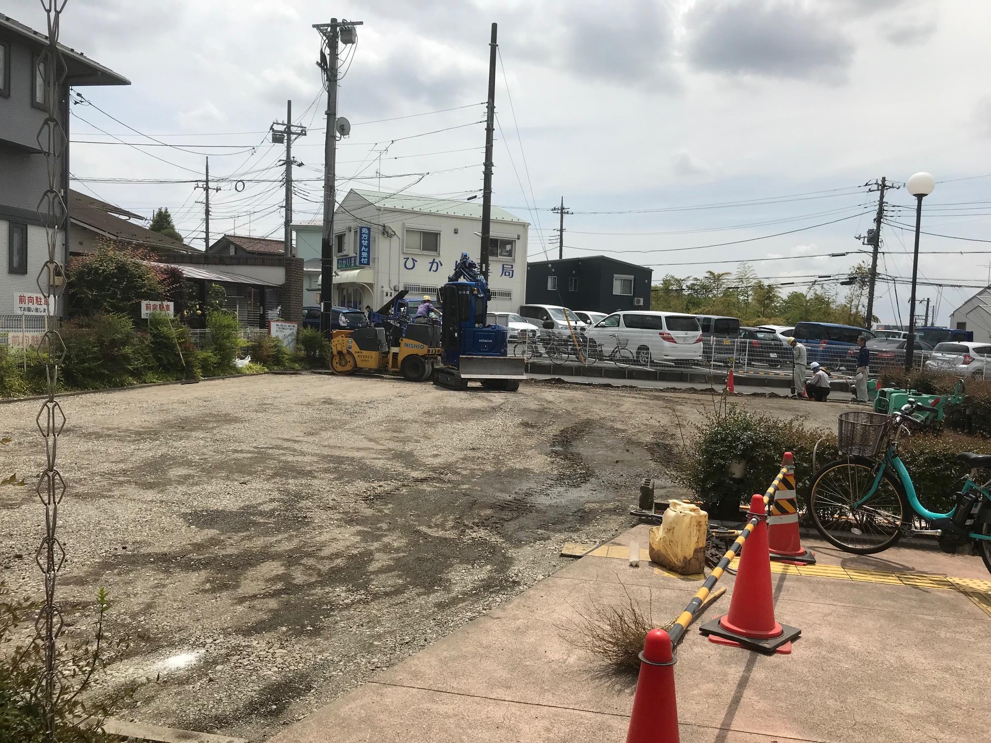 【神奈川県】駐車場舗装工事
